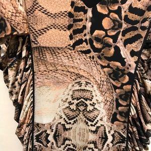 bebe Dresses - Bebe Snake skin dress